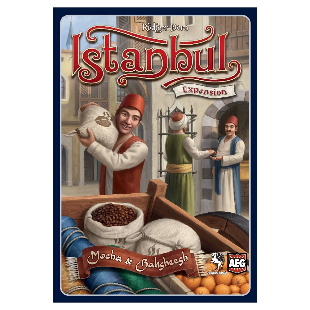 Image of Istanbul Expansion Mocha and Baksheesh Board Game
