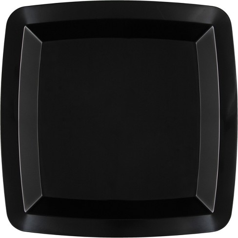 Black Square Serving Tray - image 1 of 1