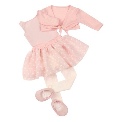 "Our Generation Ballet Fashion Outfit for 18"" Dolls - Dressed to Twirl - Pink"