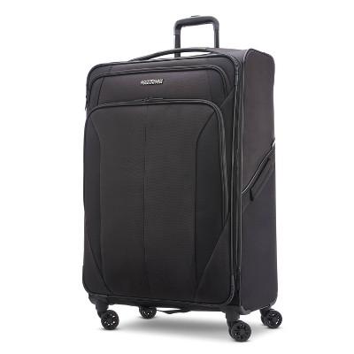 "American Tourister Phenom 28"" Softside Spinner Suitcase - Black"