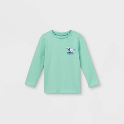 Toddler Boys' Dino Long Sleeve Rash Guard - Cat & Jack™ Blue