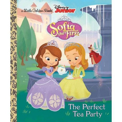 The Perfect Tea Party ( Little Golden Books) (Hardcover) by Andrea Posner-Sanchez