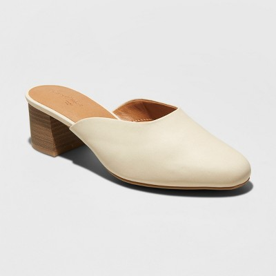 view Women's Avianna Low Vamp Kitten Heeled Mules - Universal Thread on target.com. Opens in a new tab.