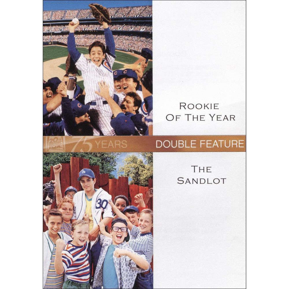 Rookie of the Year/The Sandlot [Fox 75th Anniversary] [2 Discs]
