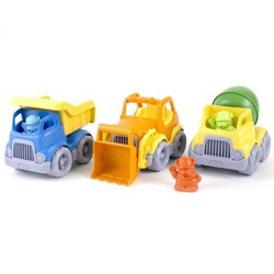Green Toys Construction Trucks Set  - Set of 3