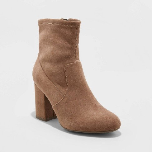 Women's Cameria Sock Fashion Bootie - A New Day™ - image 1 of 3