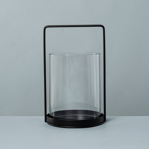 Glass & Metal Candle Lantern - Hearth & Hand™ with Magnolia - image 1 of 4