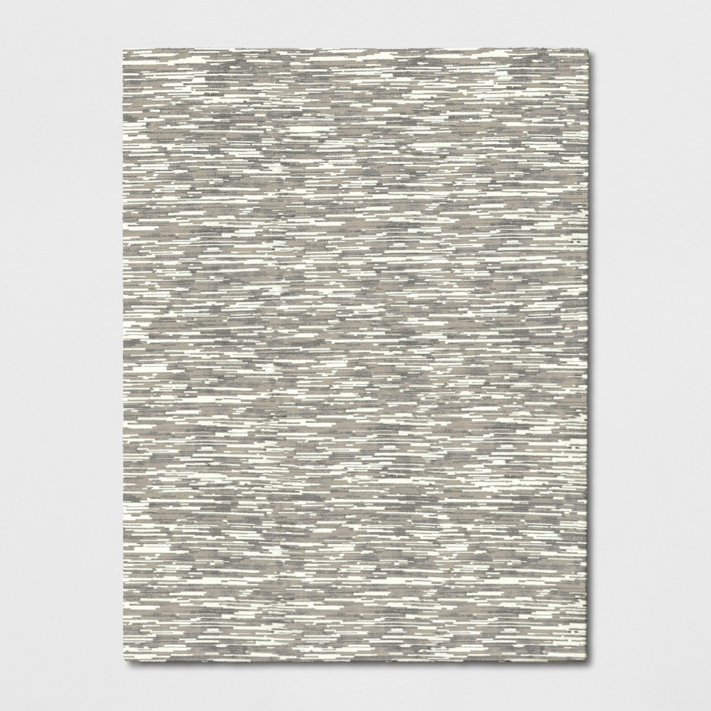 9'X12' Microplush Lines Area Rug Beige - Project 62 was $449.99 now $224.99 (50.0% off)