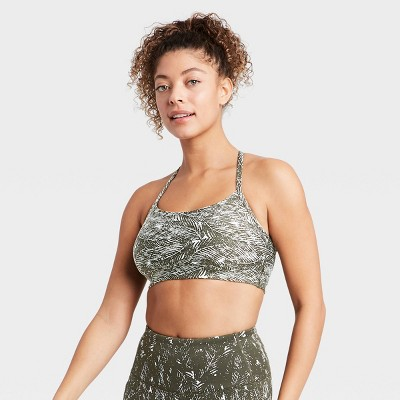 Women's Low Support Ladder Back Bra - All in Motion™
