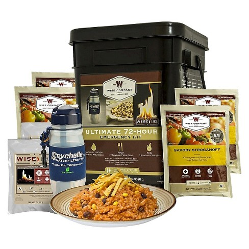 Wise Company Ultimate 72 Hour Emergency Kit - 117.40 oz - image 1 of 1