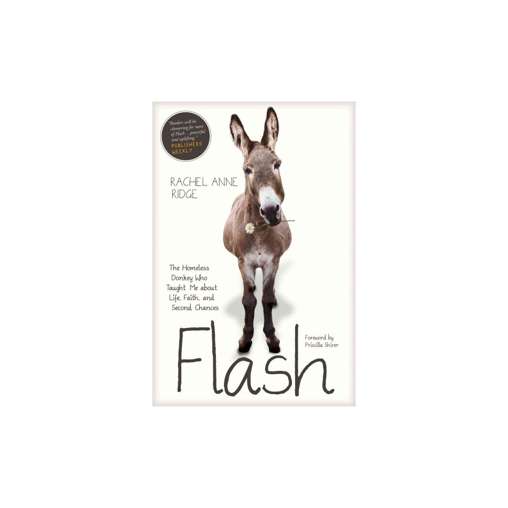 Flash : The Homeless Donkey Who Taught Me About Life, Faith, and Second Chances (Reprint) (Paperback)