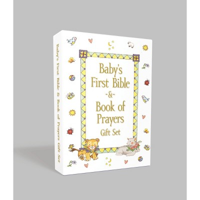 Baby's First Bible and Book of Prayers Gift Set - by Melody Clarkson (Board Book)