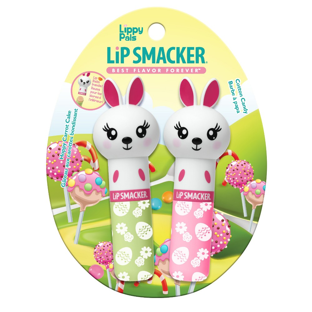 Lip Smacker Easter Lippy Pals, Easter Bunny - 2ct, Multi-Colored