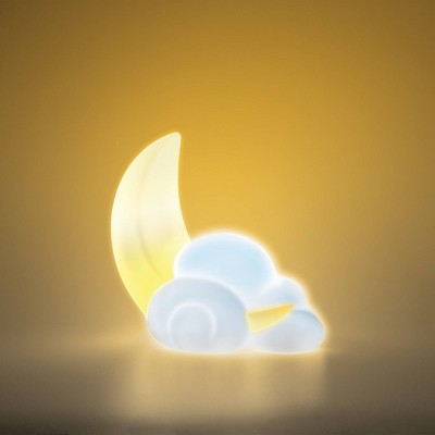 Moon and Cloud Mood Light - West & Arrow