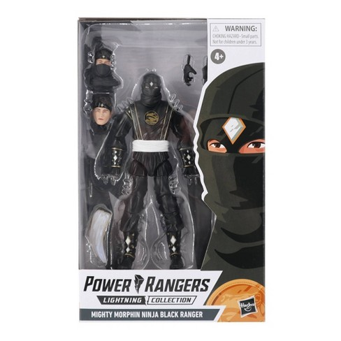 Power Rangers Lightning Collection Monsters Mighty Morphin Ninja Black Ranger - image 1 of 4