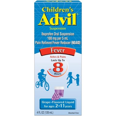 Pain Relievers: Children's Advil