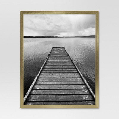 Metal Single Image Frame 8x10 - Gold - Project 62™