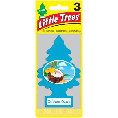 Little Trees 3pk Caribbean Colada Air Freshener