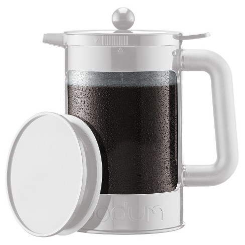 Bodum Bean Cold Brew Coffee Maker 12 Cup 51oz White