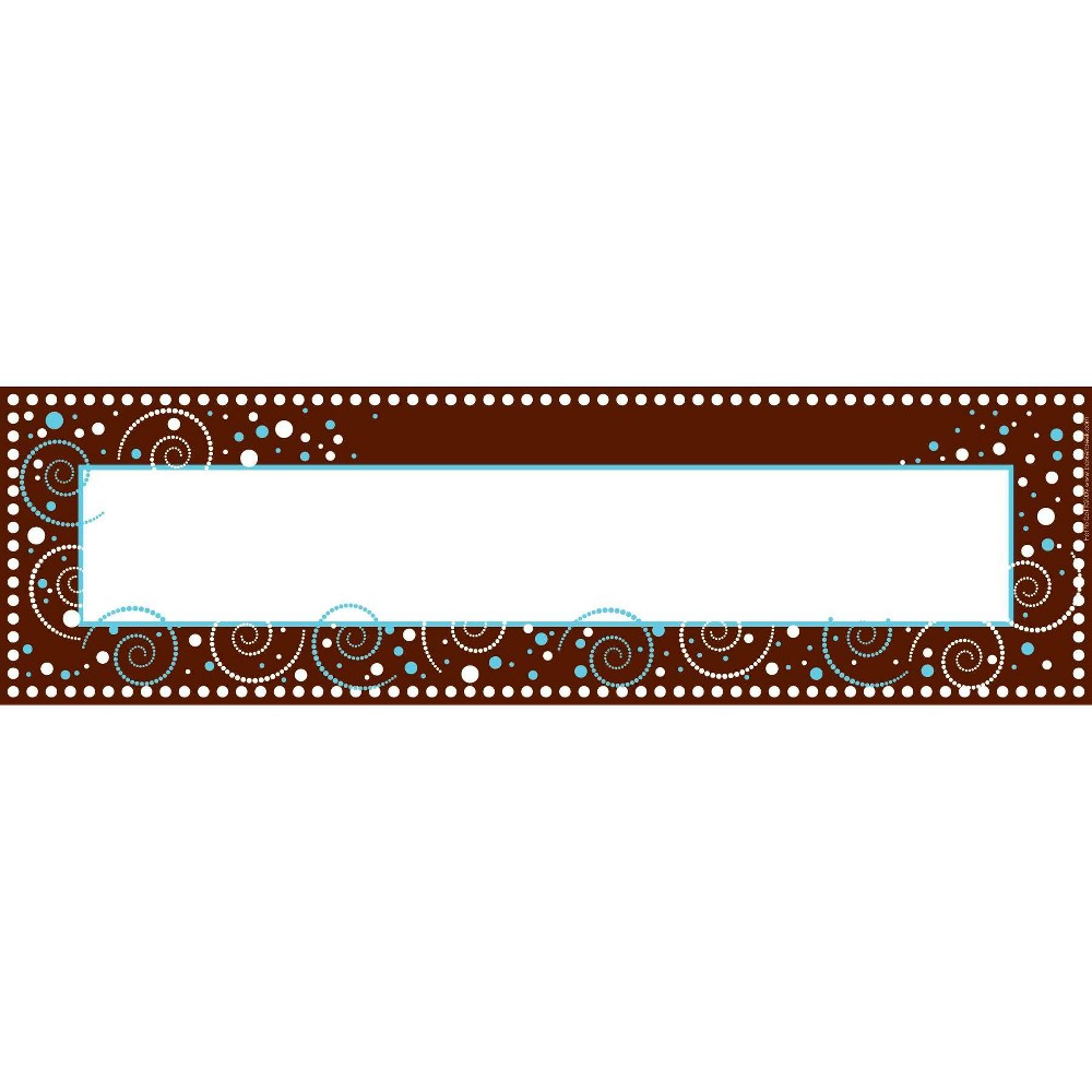Image of Barker Creek 81pc Hot To Dot Nametag and Name Plate Set