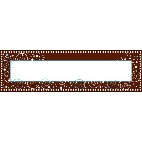 Barker Creek 81pc Hot To Dot Nametag and Name Plate Set - image 1 of 3