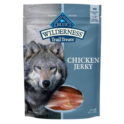 Blue Buffalo Wilderness 100% Grain-Free Chicken Jerky Dog Treats - 3.25oz
