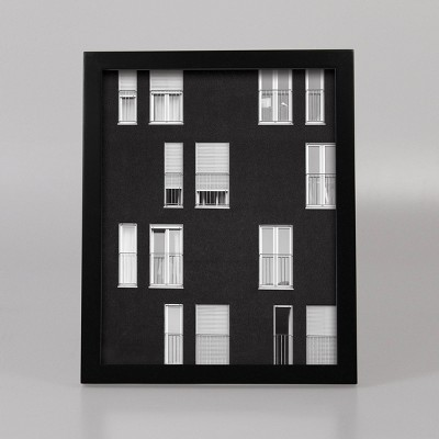 8  x 10  Thin Single Picture Frame Black - Made By Design™