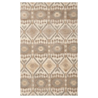 Natural/Multicolor Abstract Tufted Area Rug - (5'X8')- Safavieh®