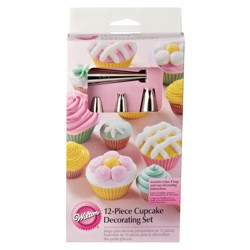 Wilton New Cupcake Decorating Set - 12ct