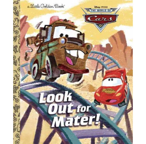 Look Out for Mater! (Hardcover) - image 1 of 1