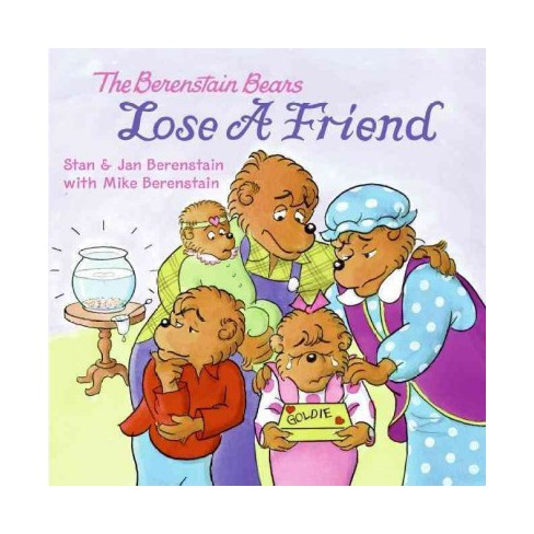 The Berenstain Bears Lose a Friend - (Berenstain Bears (8x8)) (Paperback) - image 1 of 1