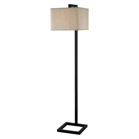 Kenroy Home Oil Rubbed Bronze Finish 4 Square Floor Lamp - image 1 of 1