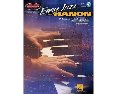 Easy Jazz Hanon : 50 Exercises for the Beginning to Intermediate Pianist (Paperback) (Peter Deneff) - image 1 of 1