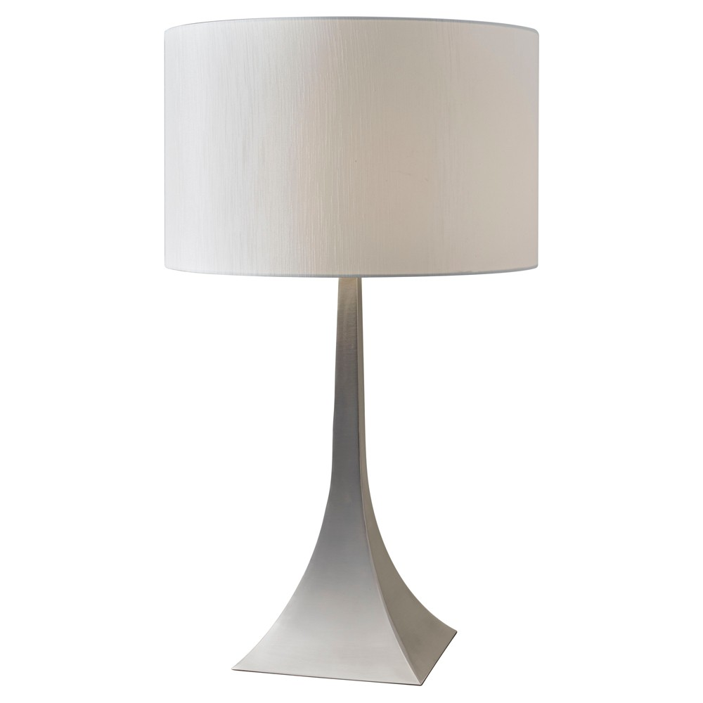 Image of Adesso Luxor Tall Table Lamp - Silver