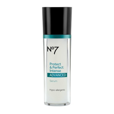 No7 Protect & Perfect Intense Advanced Serum Bottle - 1oz