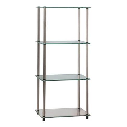 "39"" 4 Tier Glass Tower - Johar Furniture - image 1 of 4"