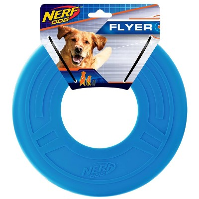 NERF Flyer Dog Toy - Opaque Blue