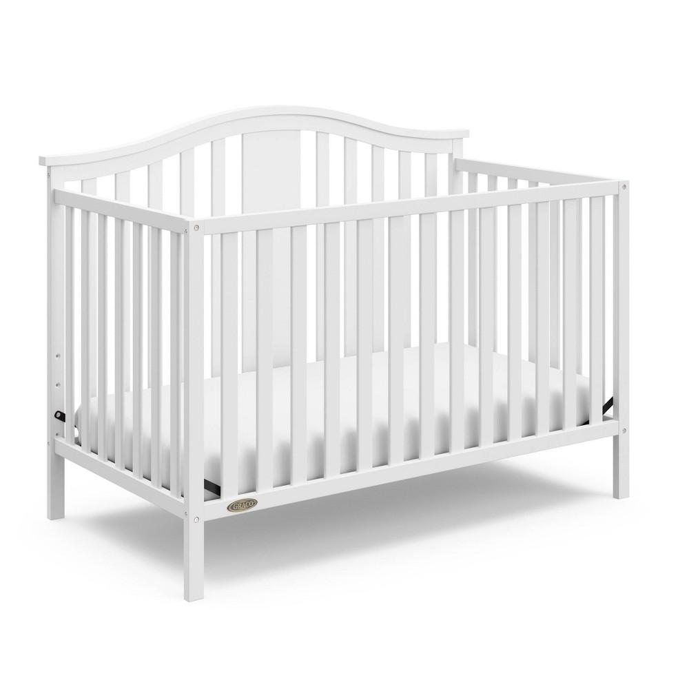 Graco Solano 4-in-1 Convertible Crib - White Discounts