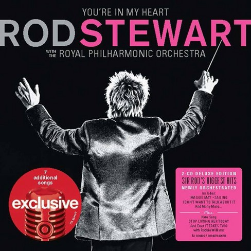 Rod Stewart - You're In My Heart: Rod Stewart With The Royal Philharmonic Orchestra (Target Exclusive, 2CD) - image 1 of 1