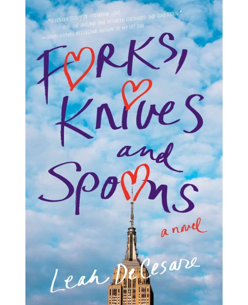 Forks, Knives and Spoons (Paperback) (Leah Decesare) - image 1 of 1