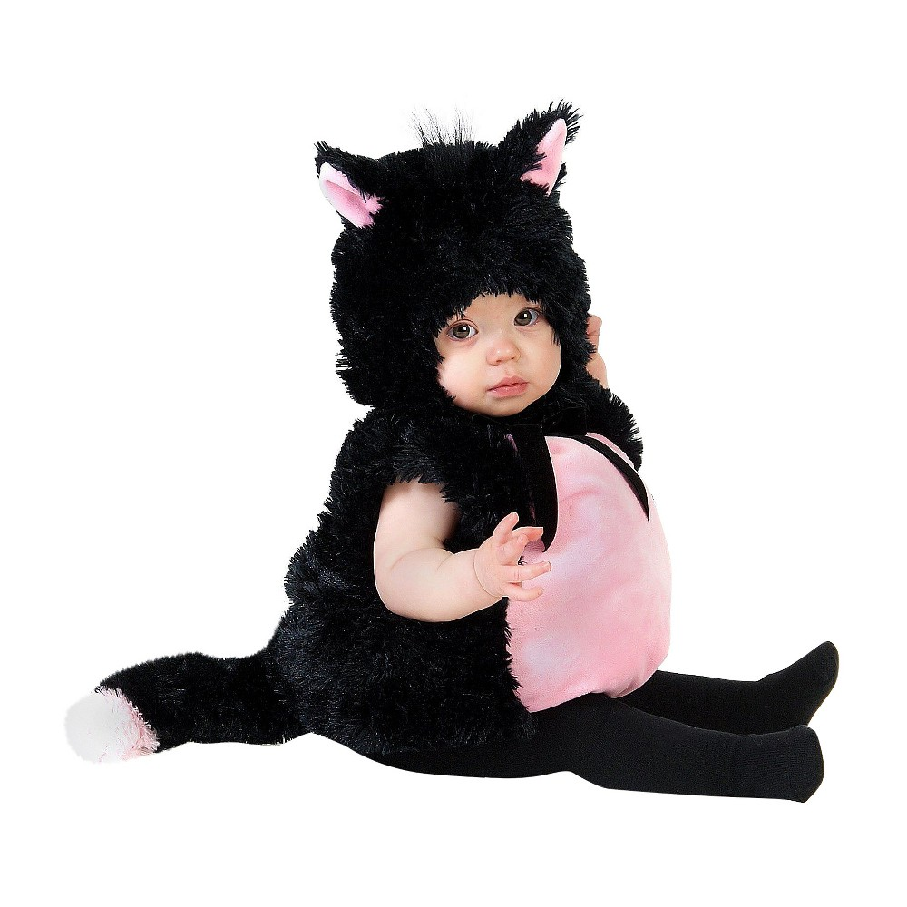 Little Kitty Baby Costume - 18-24 Months, Infant Girl's, Size: 18-24M, Black