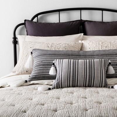 Railroad Gray Comforter Set And Pillow, Target Gray Bedding Sets