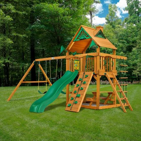 Gorilla Playsets Chateau Swing Set Target