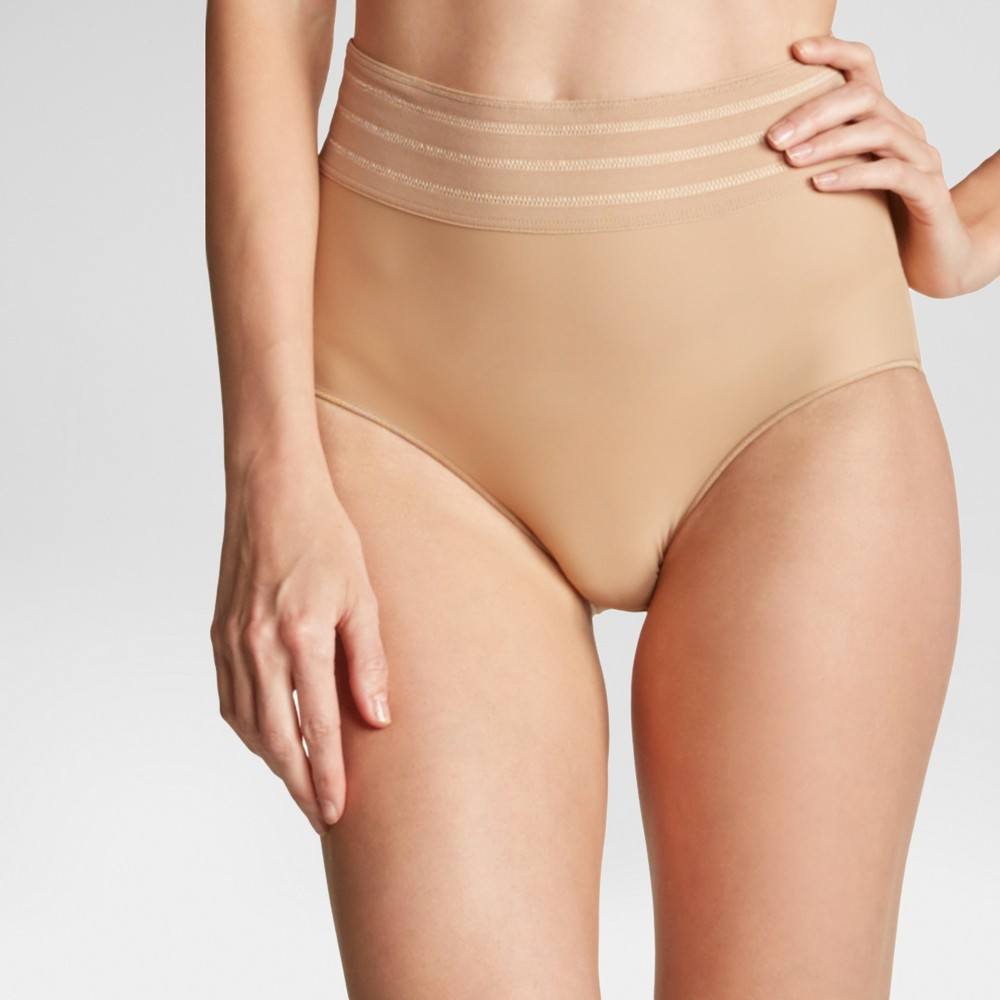 Assets by Spanx Women's Micro Shaping Brief - Barely XL
