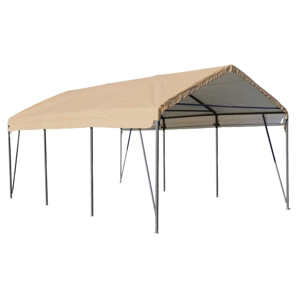 Carport In A Box 12X20X9' - Shelterlogic, Light Brown