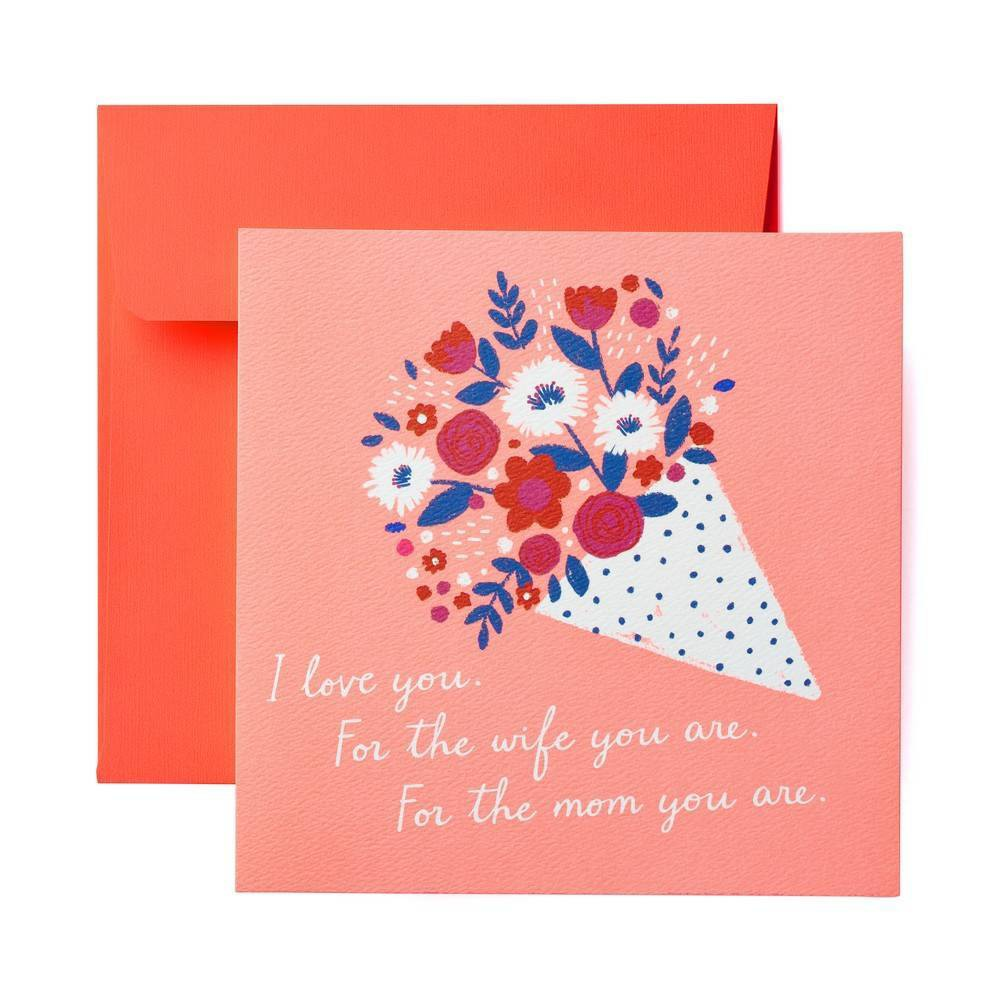 Beautiful Bouquet Mother's Day Card, Multi-Colored