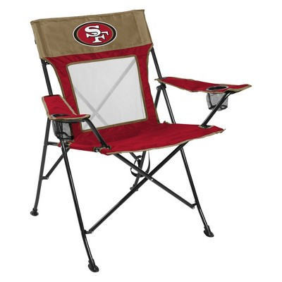 NFL San Francisco 49ers Rawlings Game Changer Chair