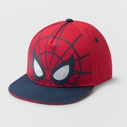 Toddler Spider-Man Baseball Hat - Red/Blue One Size