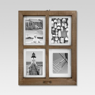 4 Opening Windowpane Frame - Raw Wood - Threshold™