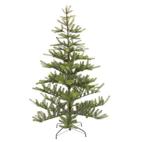 Balsam Christmas Trees.5 5ft Unlit Artificial Christmas Tree Green Balsam Fir Wondershop